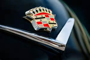 Cadillac Badges Cadillac Emblem Photograph By Reger