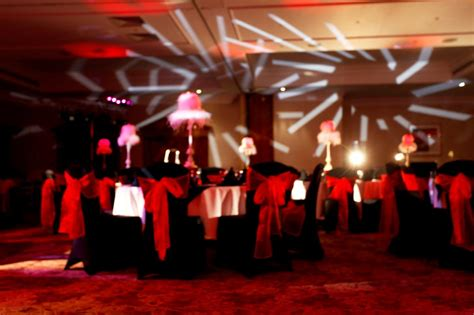 red themed events red and black theme eventologists leading corporate