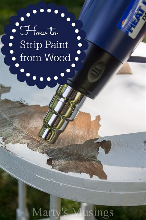 removing paint from woodwork how to paint from wood