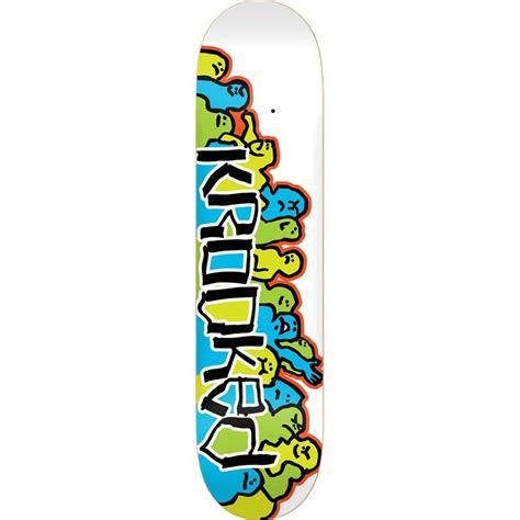 krooked deck krooked krowd 8 25 skateboard deck evo