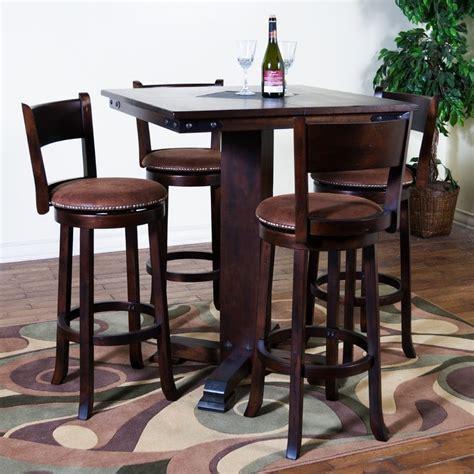 satu set meja makan bar 4 kursi jepara heritage