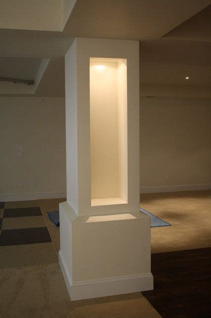 design home support 17 best ideas about basement pole covers on pinterest
