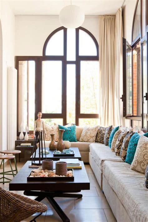 stylish beige interior design cozy and pleasant