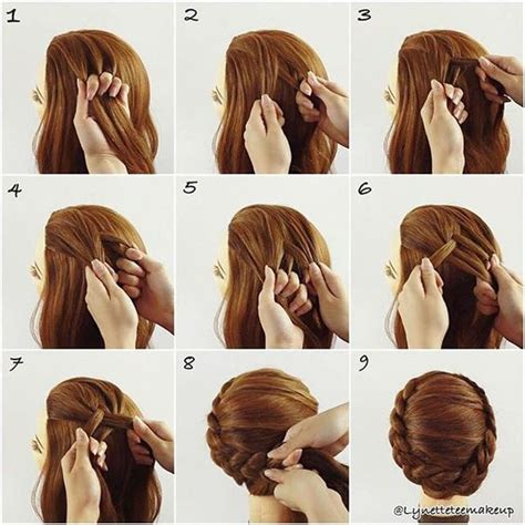 Braided Hairstyles For Hair Step By Step by How To Braid Hair Step By Step 60 Easy Step By Step