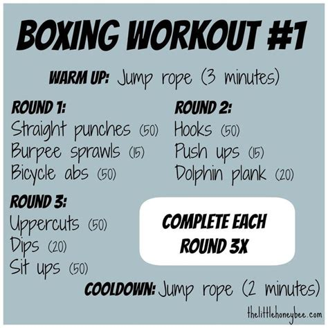 a cardio and strength at home boxing workout health and
