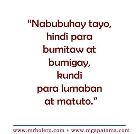 beautiful philippines meaningful song patama quotes tanga tagalog quotes tagalog quotes