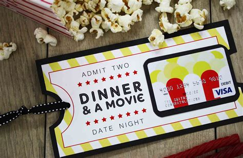 {Free Printable} Give DATE NIGHT for a Wedding Gift   GCG
