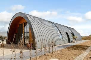 hut type house design dilapidated wwii nissen hut transformed into stunning home