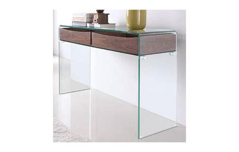 console store console design en verre et bois glasswoody decome store