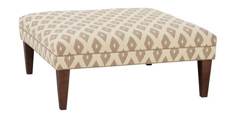 Oversized Square Ottoman Contemporary Fabric Upholstered Cocktail Ottoman Club