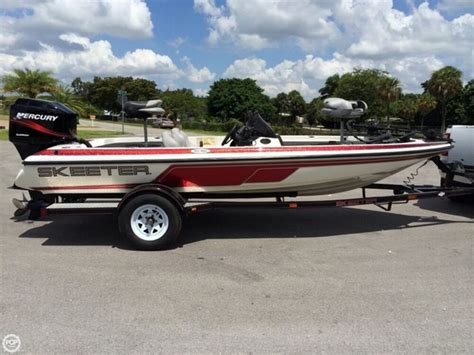skeeter bass boats for sale in florida 2003 used skeeter sx180 bass boat for sale 13 000