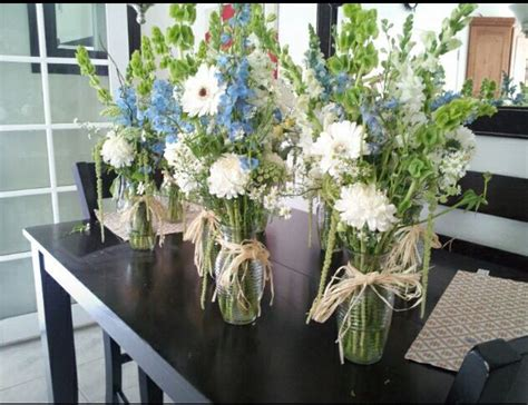 Flower Arrangements For Baby Shower by Boy Baby Shower Floral Arrangements Baby Shower