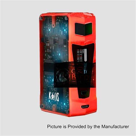 Kaos Vape Electric All Color authentic sigelei kaos z 200w tc vw variable wattage box mod