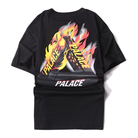 Tshirt Palace 007 Premium Quality palace t shirt 1 1 high quality palace skateboards t shirts 100 cotton summer style