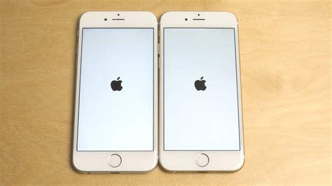 iphone 6s ios 9 0 2 vs iphone 6 ios 9 0 2 speed test