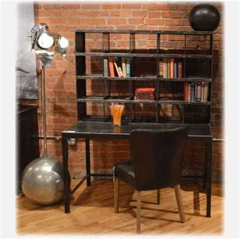 Industrial Home Office Industrial Desks And Hutches Industrial Home Office Desk