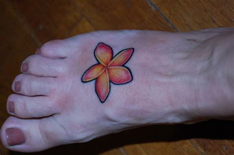 plumeria tattoo ideas pinterest