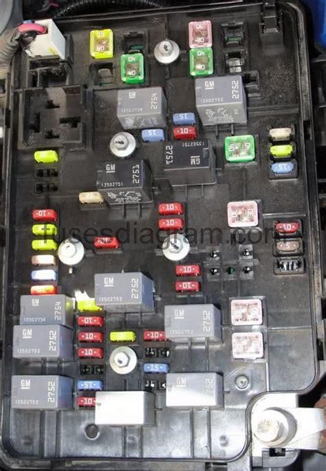 2009 chevy cobalt door lock fuse fuse box chevrolet cobalt
