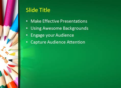 template powerpoint learning 20 sle education powerpoint templates free premium