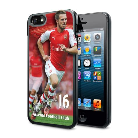 Casing Hardcase Hp Iphone 5s Arsenal Football Club X4286 1 arsenal iphone 5 5s 3d phone ramsey