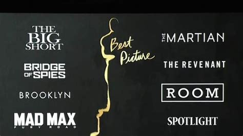 what are the nominees for the 2016 best picture oscar oscar nominations 2016 the complete list of academy award