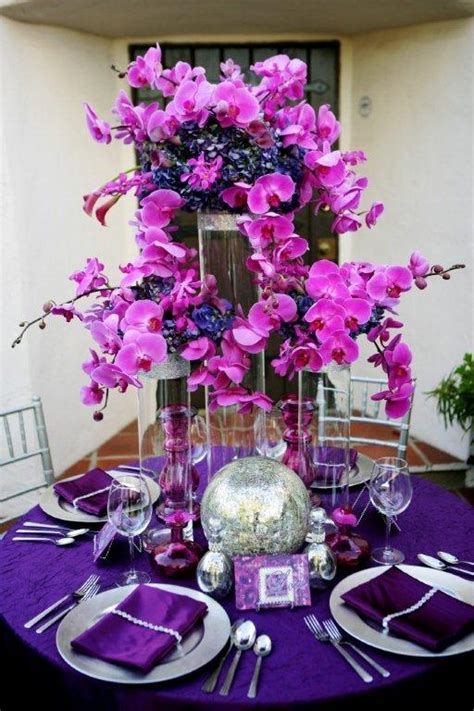17 Best Images About The Pollen Lounge On Pinterest Purple Orchid Wedding Centerpieces