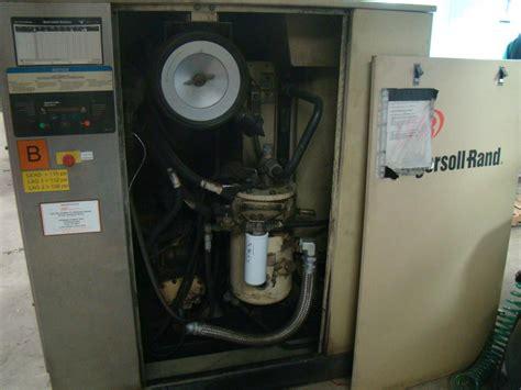 ingersoll rand rotary 50 hp air compressor 460v 211 cfm ssr epe50 ebay
