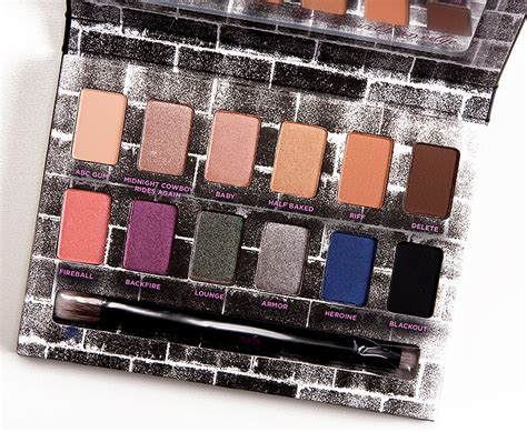 Decay Nocturnal Shadow Box Palette decay nocturnal shadow box palette review photos swatches