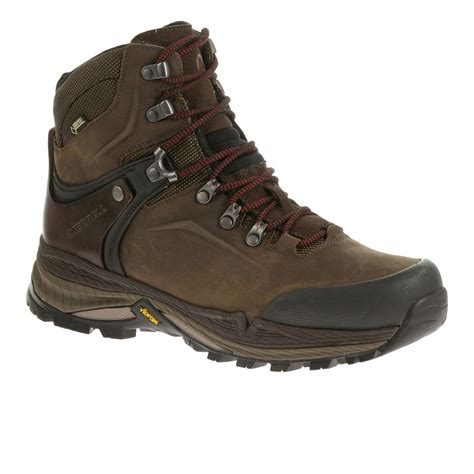 Merrel Running Browm merrell s crestbound tex hiking shoes brown