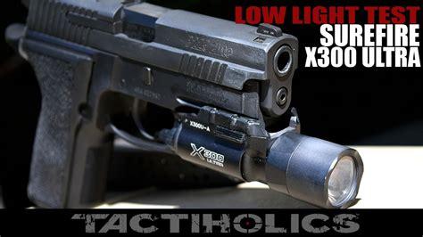 surefire x300 weapon light surefire x300 ultra weapon light low light test