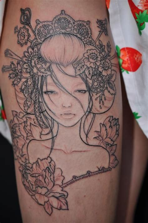 audrey kawasaki tattoo 25 best ideas about kawasaki on
