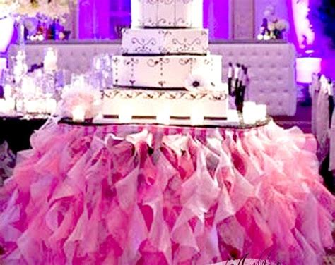 how to make a tulle table skirt 25 best ideas about tutu tablecloth on tulle