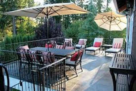 pictures of outdoor patio furniture how to arrange patio furniture on a deck 5 tips home