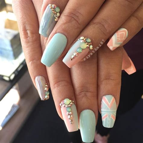 Prom Nails by 14 Glam Prom Nails You Should Check Nail Designs