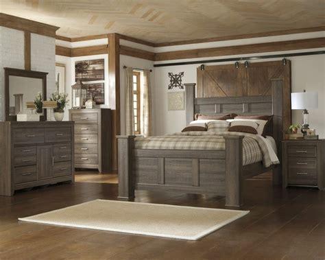 juararo  pc dresser mirror queen poster bed  bedroom sets national mattress