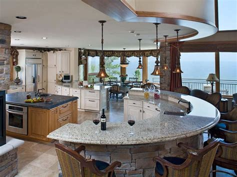 curved kitchen island designs captivating curved island kitchen designs 58 for your