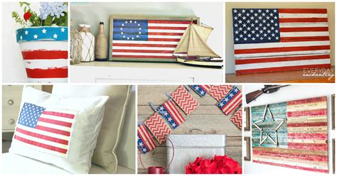 American Flag Decorations by American Flag Decor Ideas The Weathered Fox