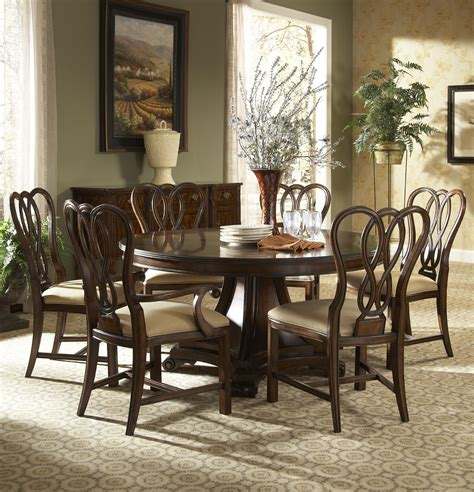 fine dining room tables hyde park formal dining room group by fine furniture design wolf furniture