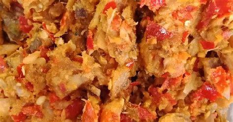 resep cakalang rabe enak  sederhana cookpad