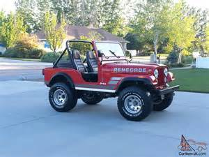 1983 jeep cj5 renegade