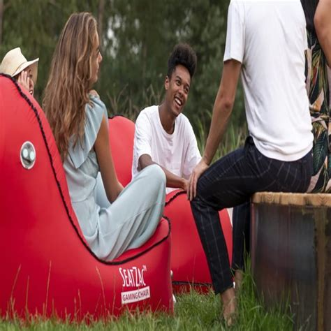 inflating chair   easy  relax