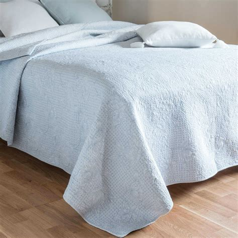 Blue Quilted Bedspread Buy Cheap Cotton Quilted Bedspread Compare Home Textiles