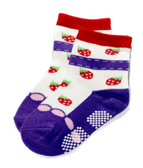 Kaos Kaki Motif Gambar Sepatu Dengan Anti Selip shoe motif socks 12 15cm kicau kecil