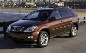 Lexus Rx350 2008 Car And Driver