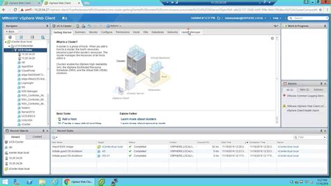 rage workflow vsphere 5 5 update manager vcenter appliance