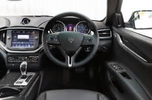 Maserati Ghibli Interior Maserati Ghibli Interior Autocar
