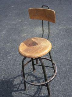 Vintage drafting chair stool