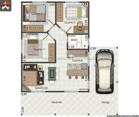 plantas casas encontre plantas de casas 3 quartos 100 m 178 so detalhe
