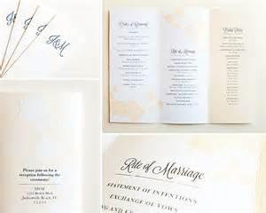 Wedding Church Programs Kimberly Church J Amp M Wedding Program