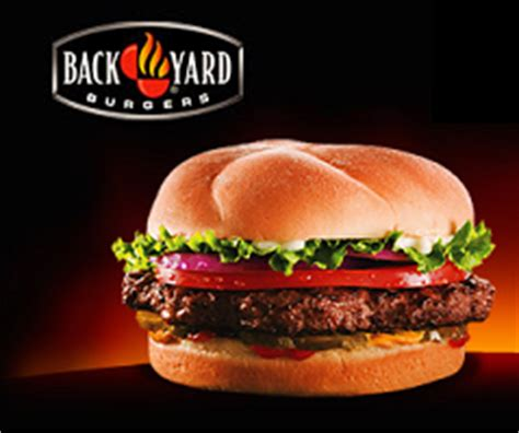 Backyard Burger Free Coupon Free Back Yard Burger At Back Yard Burgers Coupons And